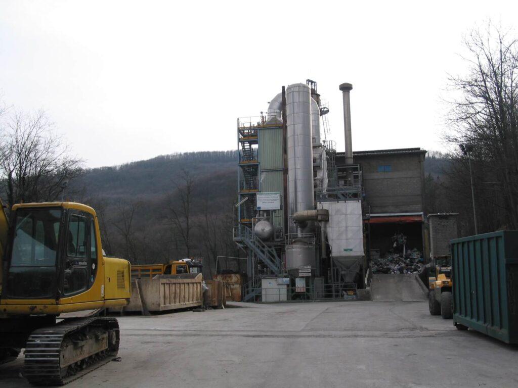Incineration plant Se.Ver.A.