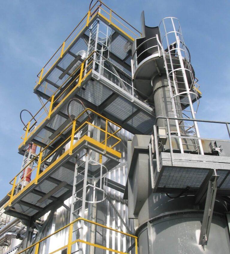 Revamping hospital waste incineration plant